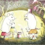Mouse and Mole Make Magic on Mushrooms