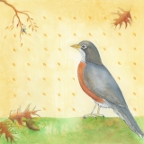 Robin-with-Acorn-and-Bug